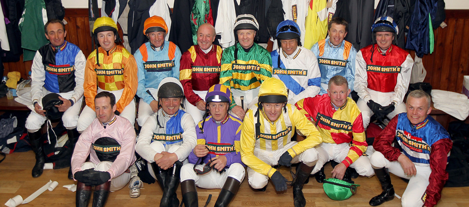 John Smith's Aintree Legends jockey line up 2012