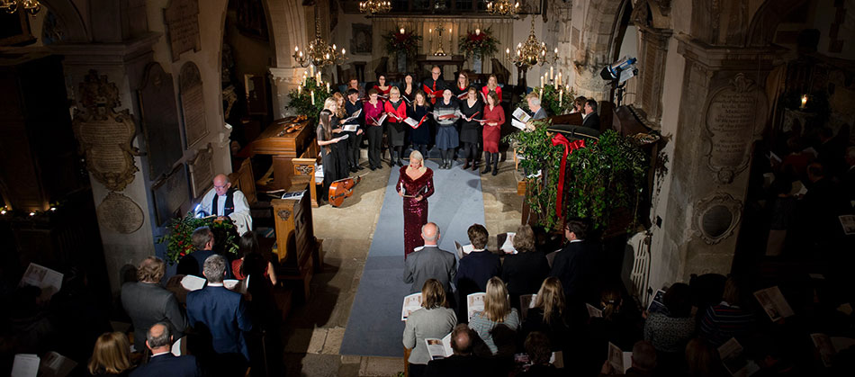 Carols & Champagne, Chelsea Old Church 2018